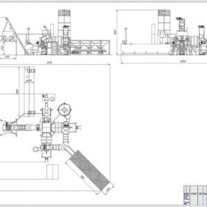 Асфальтовый завод МВ АЗм-60