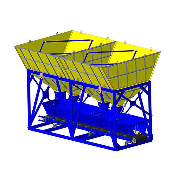 Дозирующий комплекс для инертных материалов