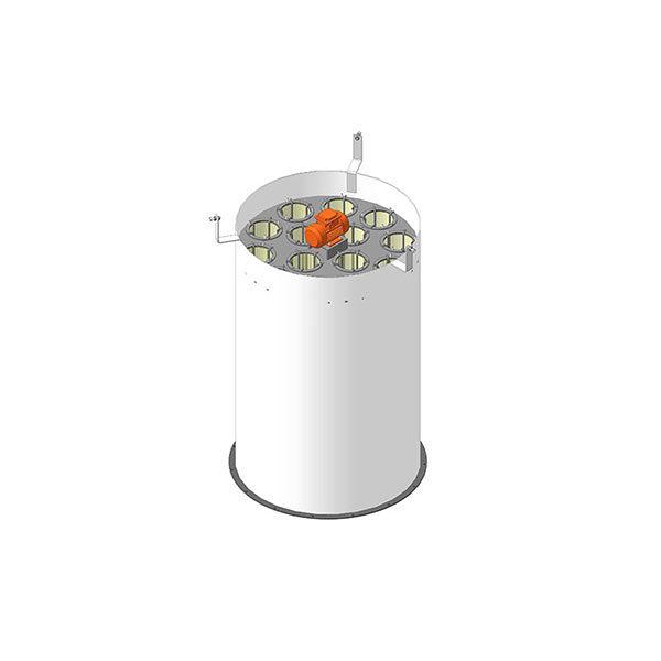 Фильтр очистки цемента