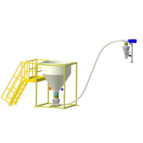 Устройство подачи целлюлозной добавки для производства ЩМА