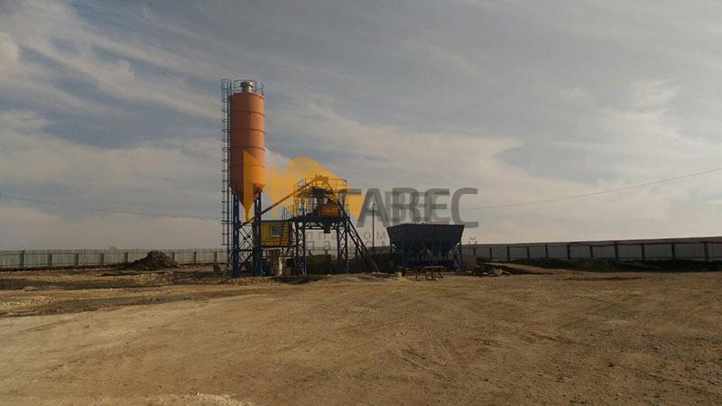 Бетонный завод серии МВ-40с